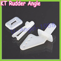 Wholesale 10set/lot  KT rudder angle four-hole + quick adjustment rocker KT foam chuck Airplane Parts Aircraft