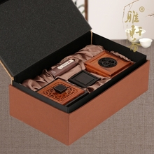 Zhai Langhammer fragrant incense disc TZ mahogany music box of high-grade creative sandalwood incense burner set electronic oven