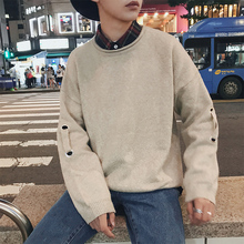 Inverno 2017 Winter Warm New Pattern Leisure Weave Bring Sweater Men Lovers Knitting Unlined Garment Casual Agasalho Masculino
