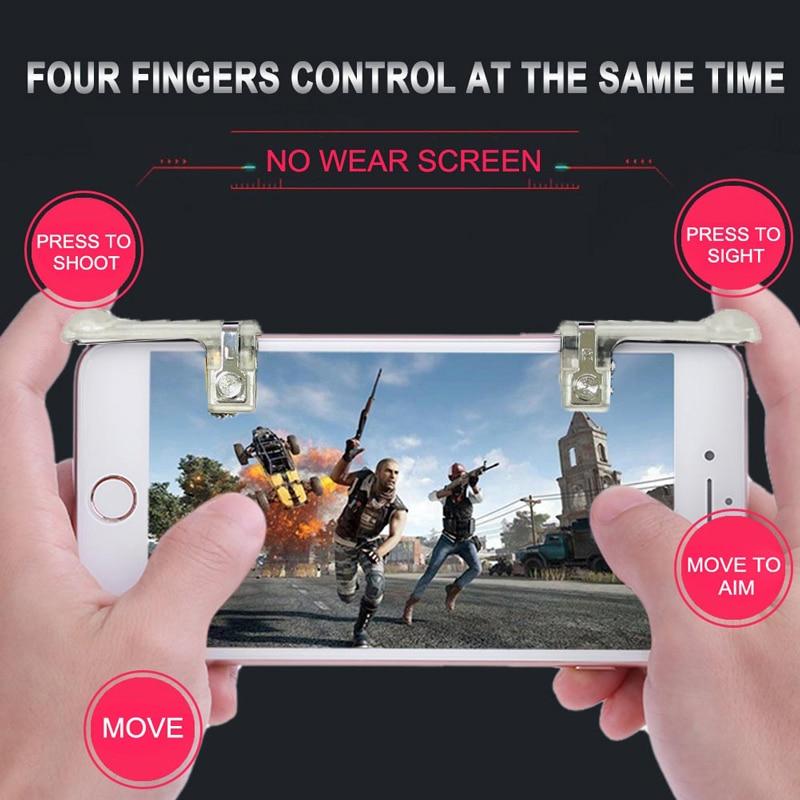 Jeebel 2 Unids Teléfono Móvil Game Controller Palancas Para PUBG - Juegos y accesorios