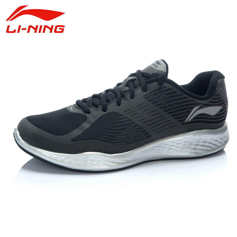 LI-NING Cloud Outdoor Running Shoes Men Lace Up Breathable Tuff RB Anti-Slip Cushioning Sneakers Sport Shoes ARHJ005 XYP257