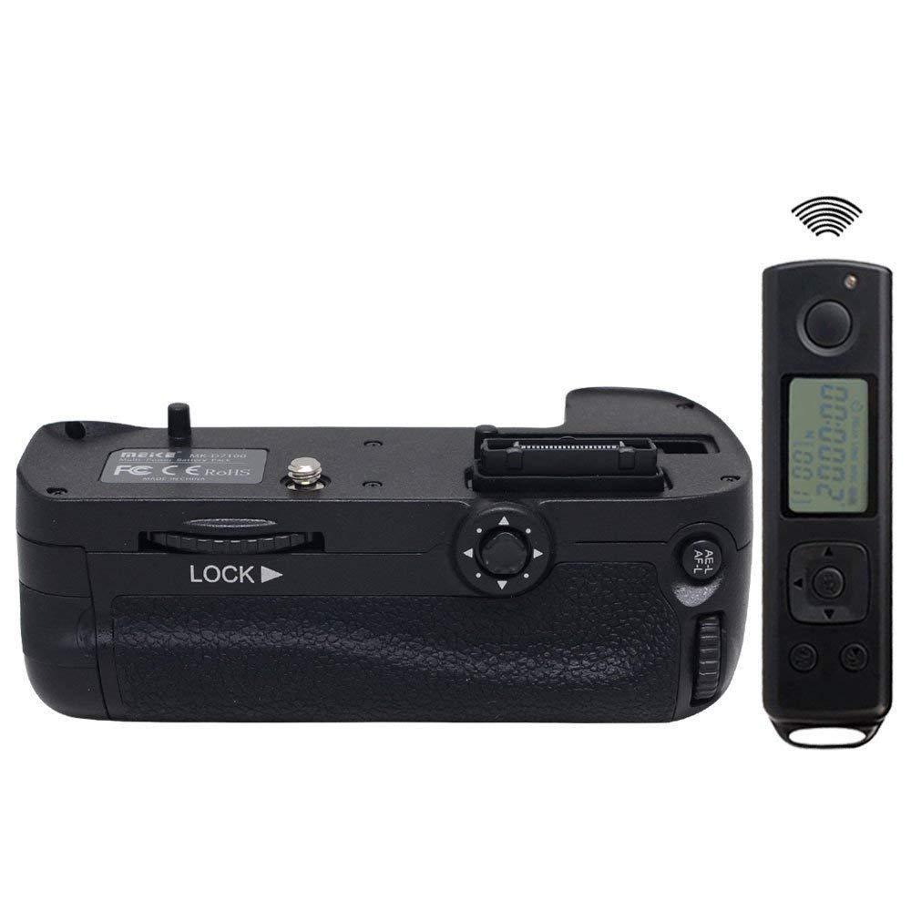 Meike MK-DR7100 poignée de batterie de télécommande pour Nikon D7100 D7200 MB-D15 EN-EL15
