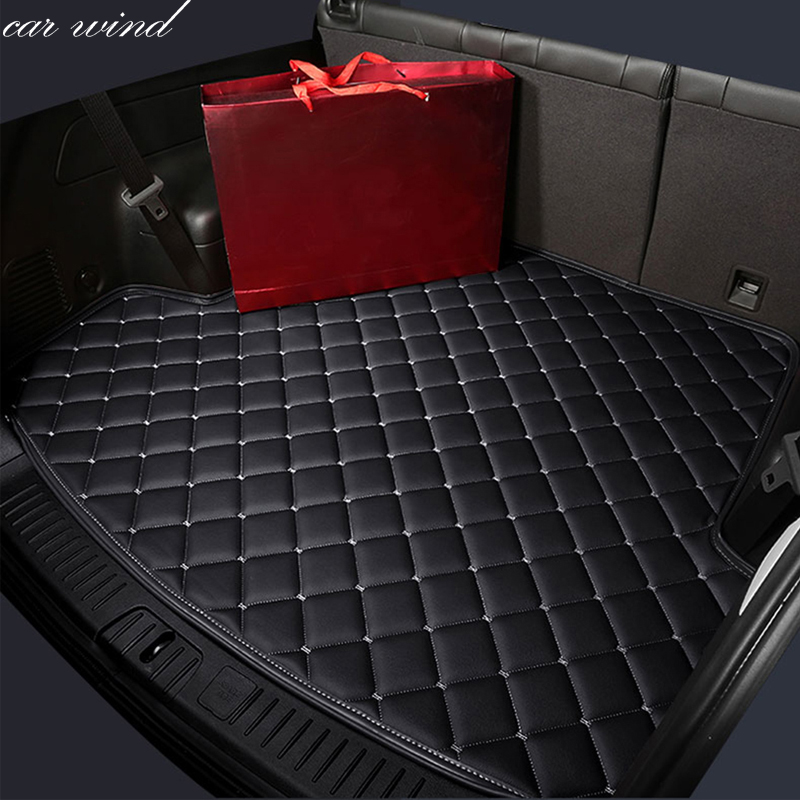 Car wind car Cargo Liner Trunk mat For nissan x-trail t31 jeep grand cherokee mitsubishi pajero sport tiguan Car Accessories car rear trunk security shield shade cargo cover for mitsubishi pajero sport 2011 2012 2013 2014 2015 2016 2017 black beige