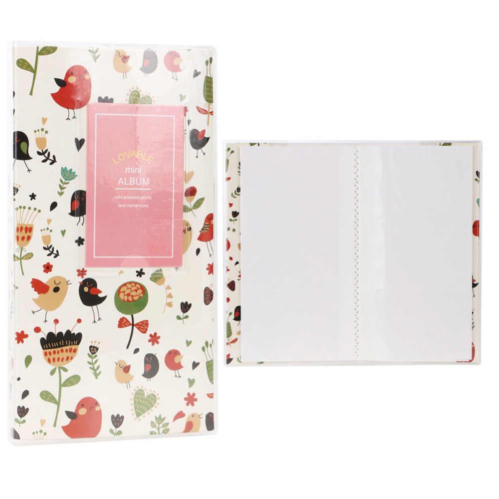 Álbum de fotos de 84 bolsos, álbum de fotos colorido de doces, câmera, álbum de fotos, folhas, tipo álbum para fuji instax mini 7s 8 25 50s