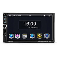 7'' HD Bluetooth Touch Screen Car GPS Stereo Radio 2 DIN FM/MP5/MP3/USB/AUX P30 Support Drop Shipping August 10