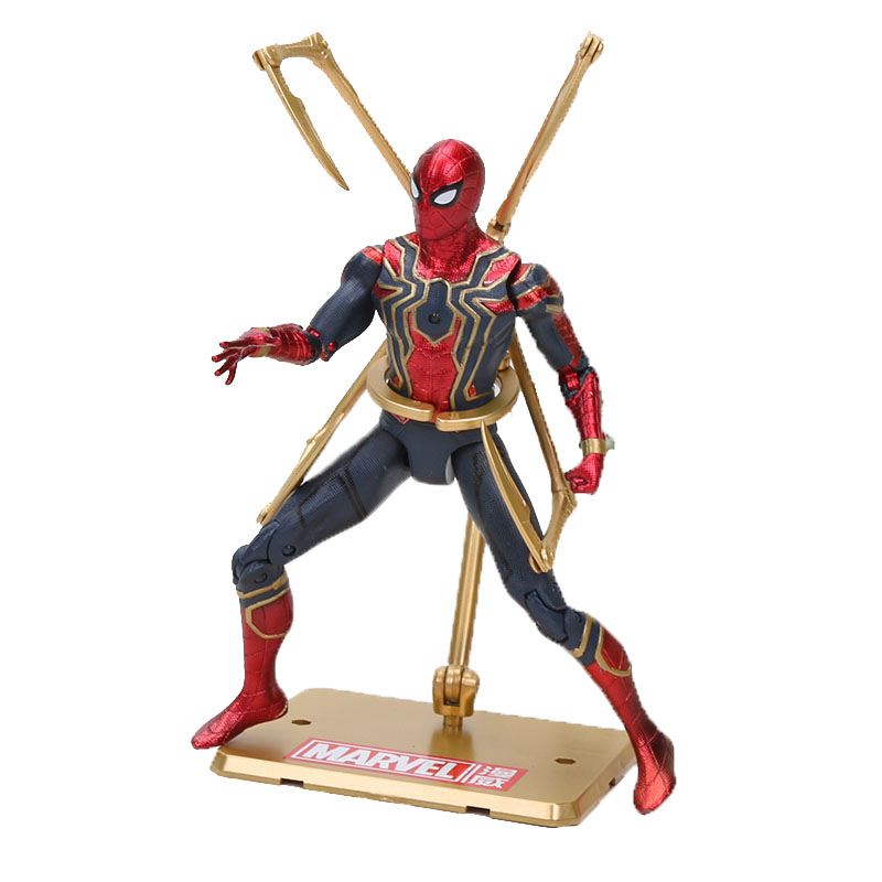 Marvel the avengers Iron Spider man Tamashii Stage Avengers spiderman Infinity War Action Figure Collection Model Doll Toys Gift