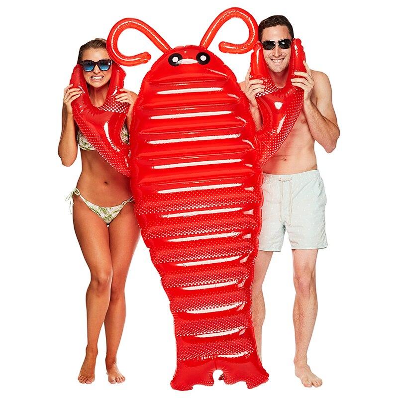 Nouveau flotteur de homard gonflable piscine flotteur géant été Sport nautique radeau jouet coquillage piscine matelas Kickboard Boia Piscina