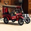 Nostalgia Retro de Hierro Artesanía de Metal Antiguo modelo de coche Decoración de escritorio de Los Niños Juguetes de Regalo de Cumpleaños la decoración del hogar Del Coche Accesorio