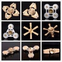 DODOELEPHANT TL 9 Hand Fidgets Spin Alloy Brass Metal EDC Sensory Fidget Spinner For Autism Kids