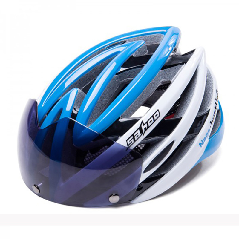 Sahoo Bicycle Helmets With Goggles Ultralight Mountain Road