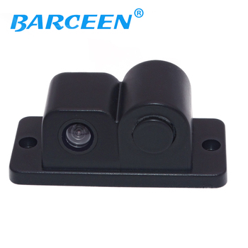 2018 New  Night Vision CCD Camera Car Rear View Camera With Parking Sensor, Connect Car DVD Monitor Show Distance and Image