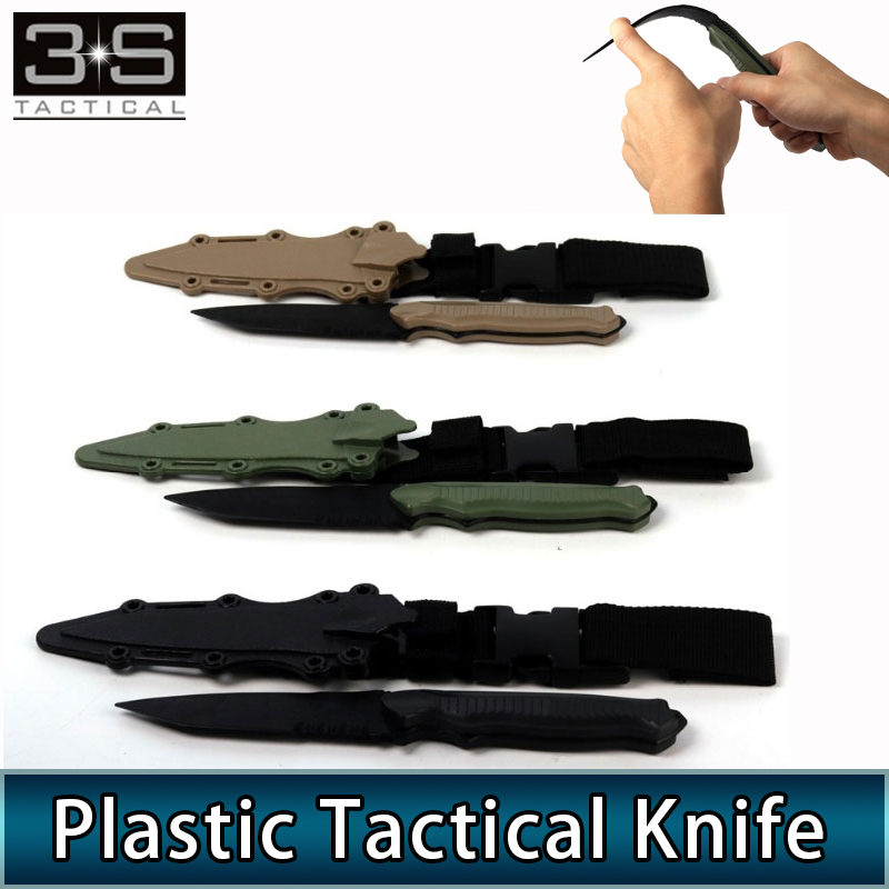 Military Enthusiasts Tactical Decoration Cosplay <font><b>M9</b></font> Bayonet <font><b>Knife</b></font> M37 Plastic Material For CS CF Cosplay image