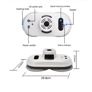 Image 5 - Prainskel  Window Cleaning Robot Window Robot Vacuum Cleaner Remote Control Magnetic Glass Cleaning Robot Framed Window Robot