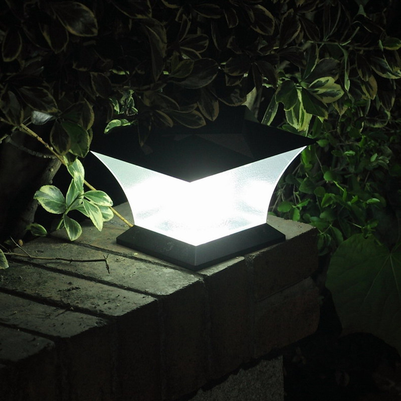 Outdoor Garden Solar Light Led Solar Lights 18 LED Waterproof Pillar Garden Lawn Landscape Decoration Lamp For Home Corridor купить в Москве 2019