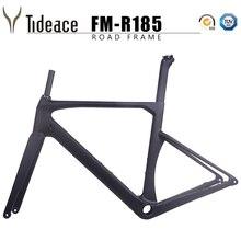 Disc brake 100% full carbon road bike frame axle 142*12mm T1000 carbon fiber road racing bicycle frameset