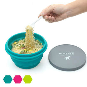 Bowl Travel Food-Grade Collapsible Outdoor Silicone Portable New with Folding Home Activities