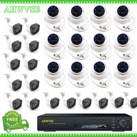 AHWVSE 32CH NVR System Kit With 2MP 1080P Security Bullet Dome IP Camera 32 Channel CCTV