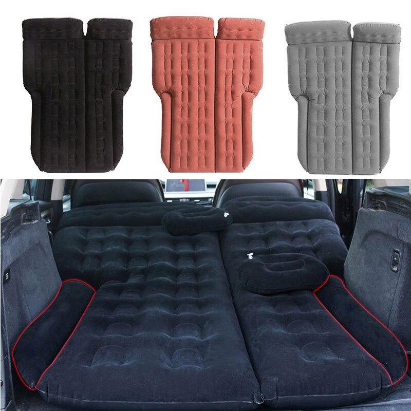 185*110 Camping voiture lit voiture matelas voiture siège arrière couverture Air matelas Colchon gonflable Para Auto voyage lit pour SUV