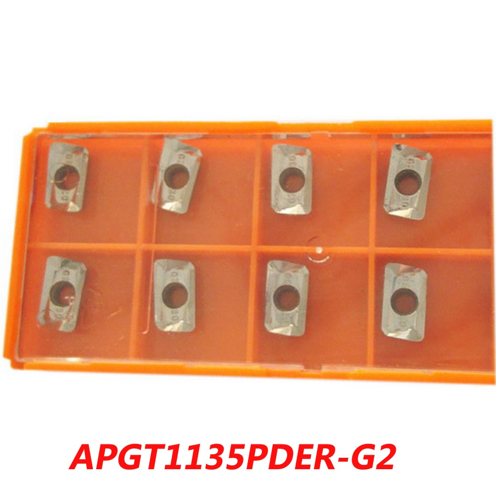 Free shipping  carbide inserts APGT1135PDER-G2 R0.8 Aluminum for face milling cutter suitable CNC Machine free shipping of 1pc hss 6542 full cnc grinded machine straight flute thin pitch tap m37 for processing steel aluminum workpiece