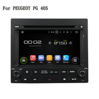 2 Din 7 Android 5.1.1 Rockchip PX3 Cortex A9, 4 core Can Bus Car DVD Player GPS Navigation Stereo Radio For PEUGEOT PG 405