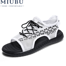 MIUBU New Arrived Summer Sandals Men Shoes Quality Comfortable Fashion Design Casual
