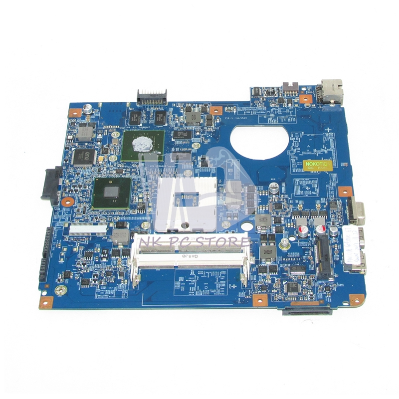 NOKOTION For Acer aspire 4741 4741G Laptop motherboard JE40 CP MB 48.4GY02.051 HM55 DDR3 GT540M Video Card Free CPU nokotion laptop motherboard for acer 4741 4741g d730 nv49c ms2303 ms2306 mbr7p01003 48 4gy02 031 hm55 nvidia gt420 ddr3