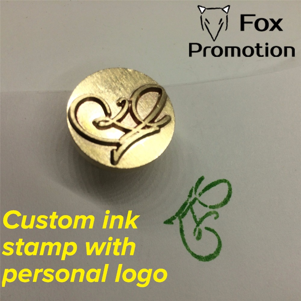 Customize Ink Brass stamp with Your Logo,New Big size Head,DIY Ancient Seal Retro Stamp,Personalized Ink/Wax Seal custom design high qualiy customize embossing stamp your logo personalized embossing seal letter head setting wedding envelope card custom