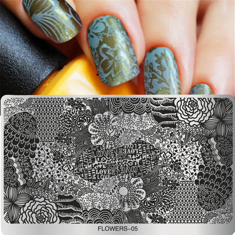 Konad Stamping Nail Art Designs Splendid Wedding Company