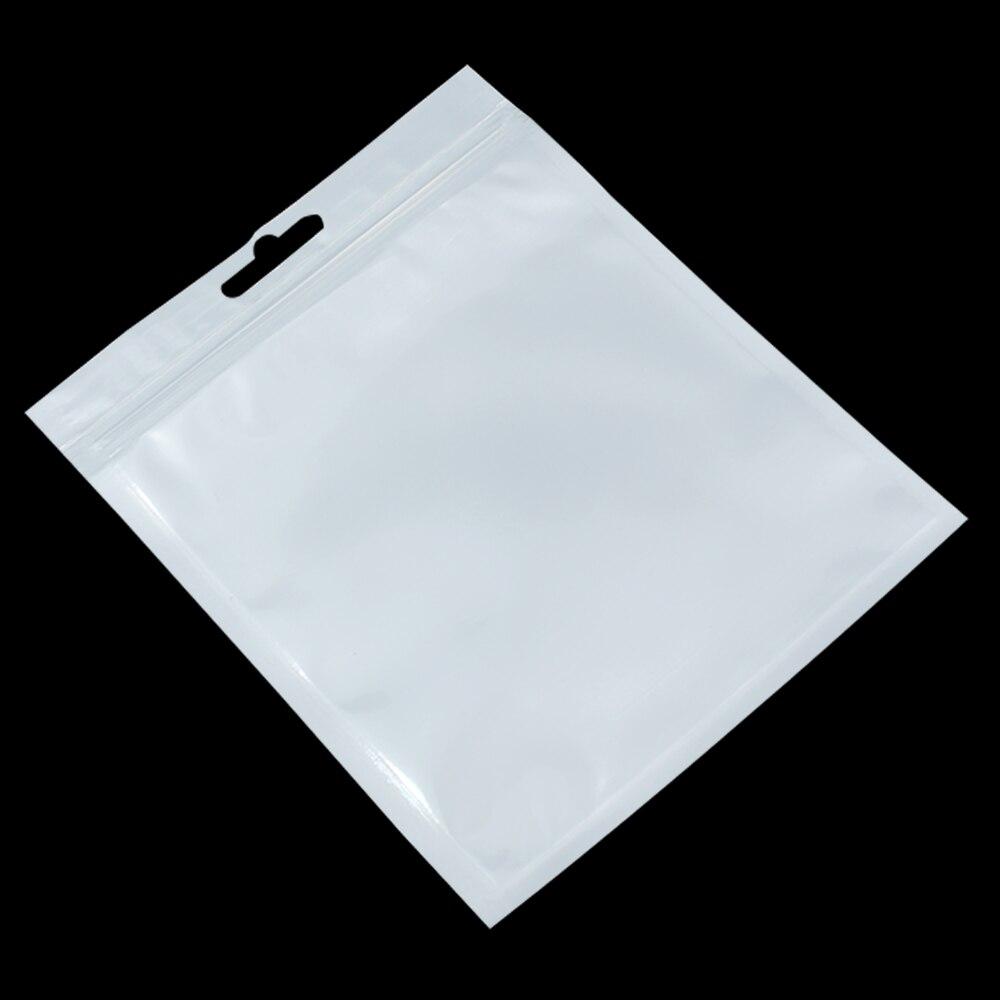 Groothandel 10 cm * 6 cm Wit / Clear Self Seal Rits Plastic Retail - Home opslag en organisatie - Foto 5