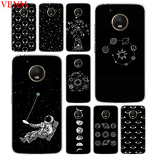 Abstract Outer Space Soft Silicone Case For Motorola G4 Play G5 G5S G6 Plus MOTO E4 E5 Gift Customized Cover Cases