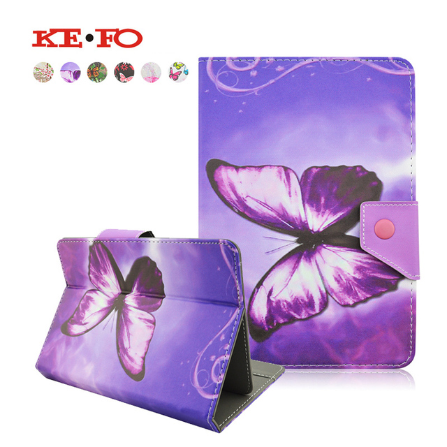 For Irbis TX18/TX17 7.0 inch Butterfly style PU Leather Cover Case Universal Tablet Cases 7 inch Android PC PAD For kids