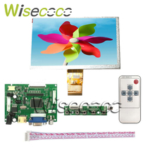 купить For Raspberry Pi 3 2  LCD Display Screen 7 inch 1024*600 7300101463 E231732 TFT 50Pins Monitor Driver Board 2AV HDMI VGA по цене 724.26 рублей
