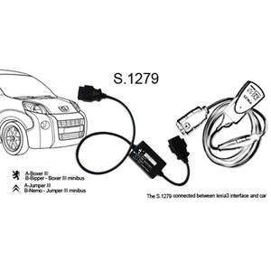 Image 5 - Top Qualität Lexia3 PP2000 für Citroen für Peugeot Diagbox V 7,83 V48 V25 PP2000 mit LED Kabel Modul S.1279 Diagnose werkzeug
