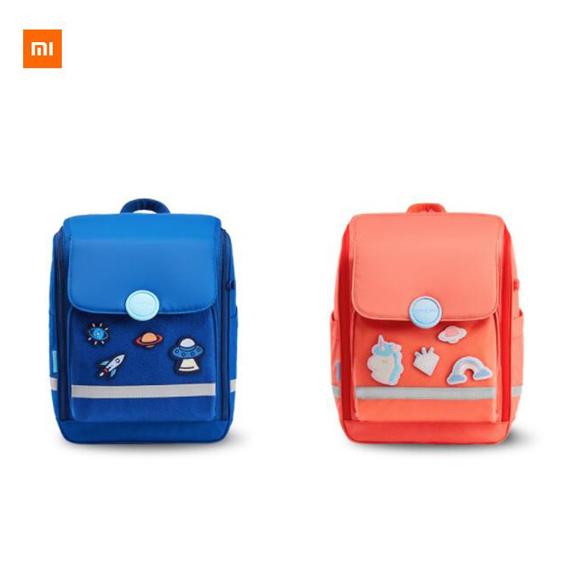 Xiaomi youpin reduce the burden of bags environmentally friendly fabrics health burden increase capacity for children(China)