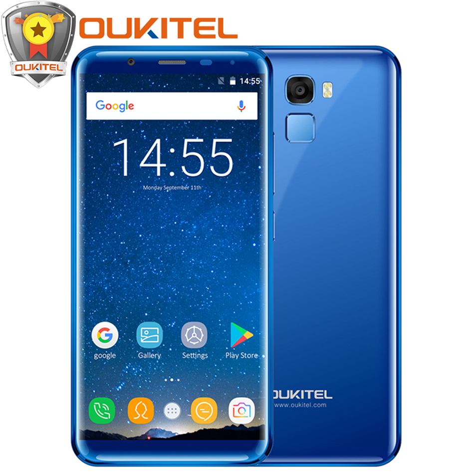"""Oukitel K5000 5.7""""18:9 Aspect Ratio Display Mobile phone 5000mAh 4GB+64GB Octa Core Android 7.0 16MP+13MP Touch ID 4G Smartphone"""