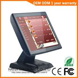 Хайна Touch 15 дюймов сенсорный экран системы POS с клиентов дисплей электронный кассовый аппарат для продажи супермаркет