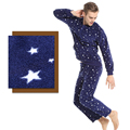 FASHION&BRAND V15AWMH016 Winter men's Clothing underwear homewear pyjamas  Pajama Sets Men long sleeve blouse  and pants
