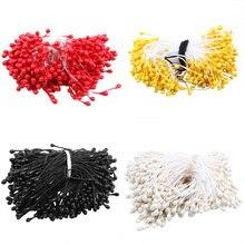 Горячая имитация цветок DIY искусственный цветок материал ядро дома свадебное украшение черный/желтый/красный/бежевый