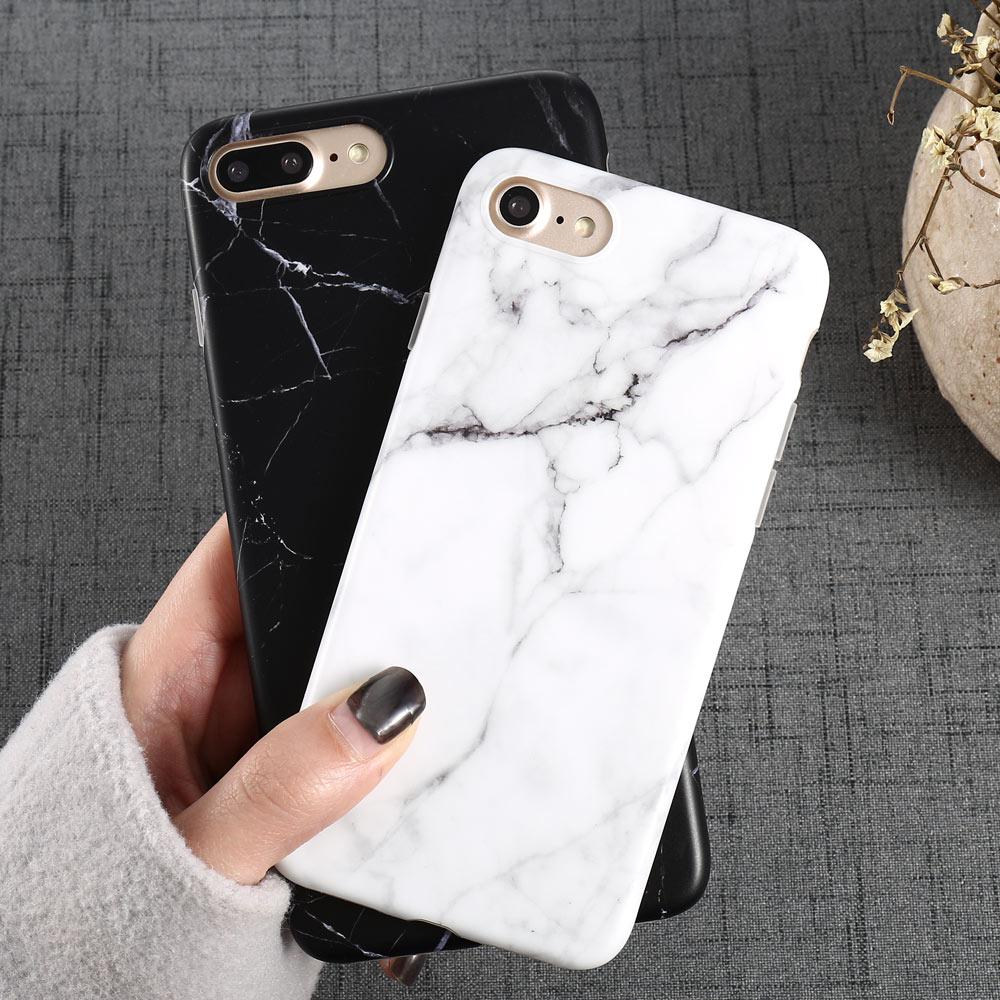 Marble Pattern I 8 Phone Iphone 8 Plus XS Iphone8 Plus Phone Accessories Coque XS X 7 Plus 6 6S 5 S SE