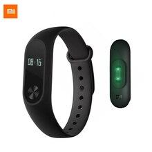 Бесплатная доставка оригинальный Xiaomi Mi band 2 SmartBand CE OLED Дисплей Touchpad miband 2 сердечного ритма Мониторы Bluetooth 4.0 браслет для занятий спортом