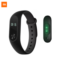 Free Ship Original Xiaomi Mi Band 2 Smartband CE OLED Display Touchpad Miband 2 Heart Rate