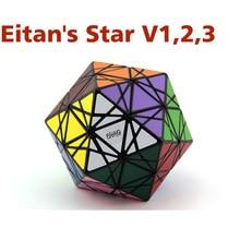 MF8& Eitan's Star ICOSAIX MF8& Oskar I II III куб головоломка черный/Stickerless MF8 Starminx III идея подарка для X'mas дня рождения