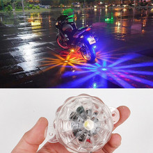 1pc 12V Motorcycle Car LED Chassis Light Under Motorbike Scooter Flasher Tail Brake Fog font b