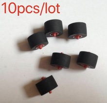 10Pieces/Lot  1.5mm * 10.5mm 7mm Red Core Tape Recorder Amplifiers Walkman Pressure Pinch Roller