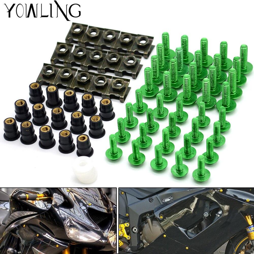 motorcycle accessories fairing screw bolt windscreen screw FOR yamaha mt 09 mt07 Kawasaki NINJA 650R/ER6F/ER6N z800 suzuki ktm