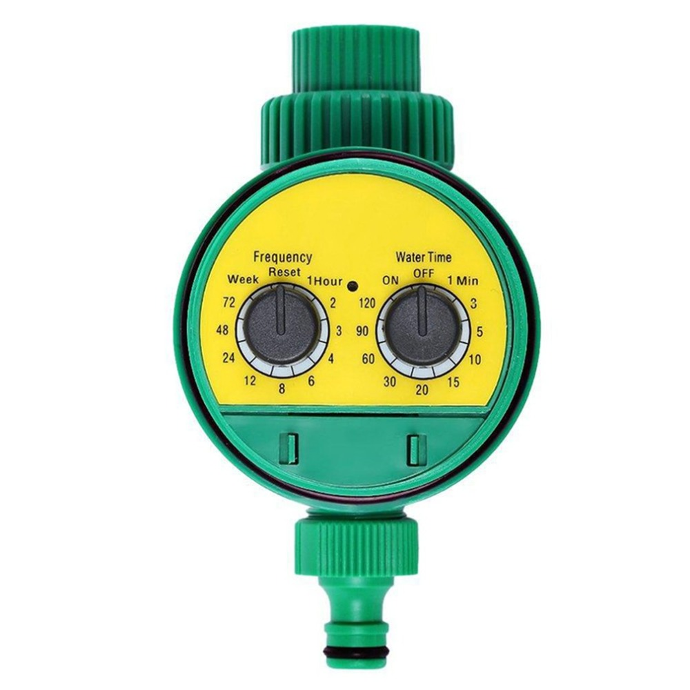Rotary Knob Water Timer Automatic Electronic Watering Timer Valve Irrigation Sprinkler Controller For Micro Drip Irrigation albohes smart sprinkler controller