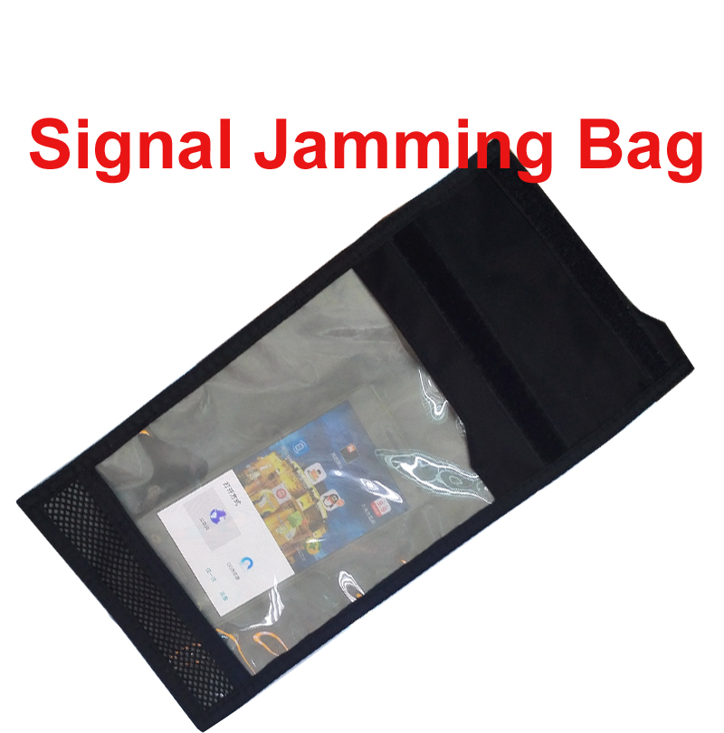Anti-Scan Card Sleeve For 3-5 Phones Blocking Function Of Anti-tracking Signal Isolator Bag & Radiation Jammer Bag Anti Scanning