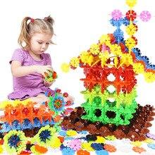 12 цветов цифровые буквы толстые снежинки части оптом собранные строительные блоки головоломка Дети Раннее Образование головоломки игрушки