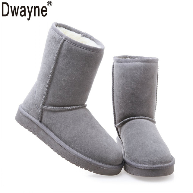 Genuine Leather Snow boots Women Boots zapatos mujer Ankle Boots for Women Winter Boots botas femininas Winter Shoes SN333-85