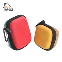 все цены на Snailhouse Headphone Case Bag Earphone Earbuds Hard Box Storage for Memory Card USB Cable Organizer Earphone Digital Bags онлайн